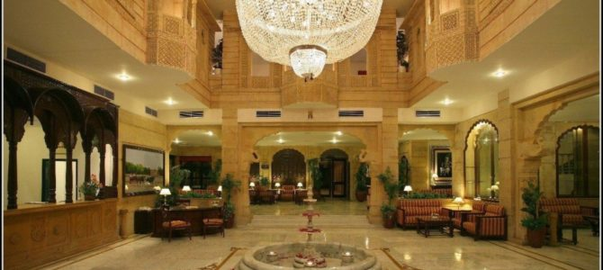 Jaisalmer Five Star Luxuries Hotels Rajasthan