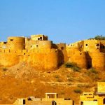 New year celebration in Jaisalmer desert
