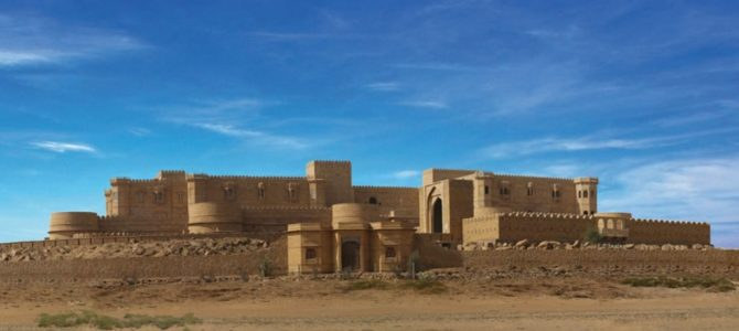 luxury hotels camps in jaisalmer