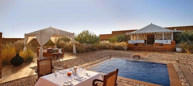 jaisalmer luxury desert camps & swiss tents