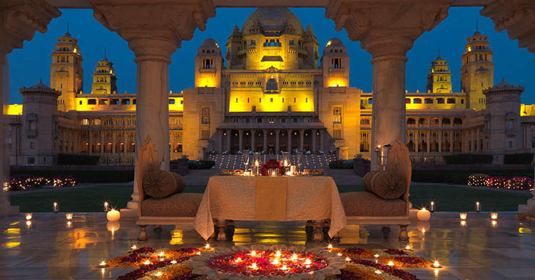 Jodhpur - Known as the Blue City and the Sun City.