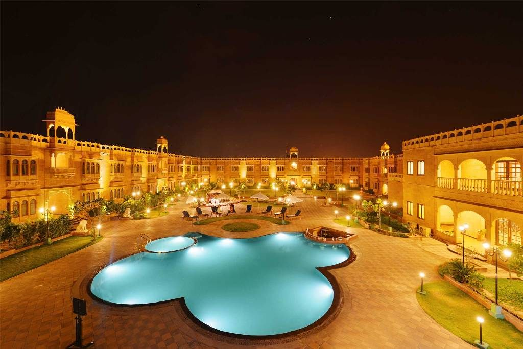 Luxurious stay in jaisalmer rajasthan tour planner - Jaisalmer hotels with swimming pool ...