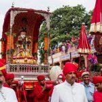 Celebrate Teej Festival In Jaipur Rajasthan (12 September 2017)