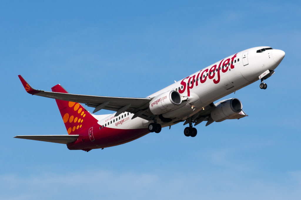 Spicejet Airlines Introduces Its Maiden Journey To