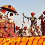 Attrazione popolare in Rajasthan