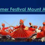 Summer Festival Mount Abu, Rajasthan