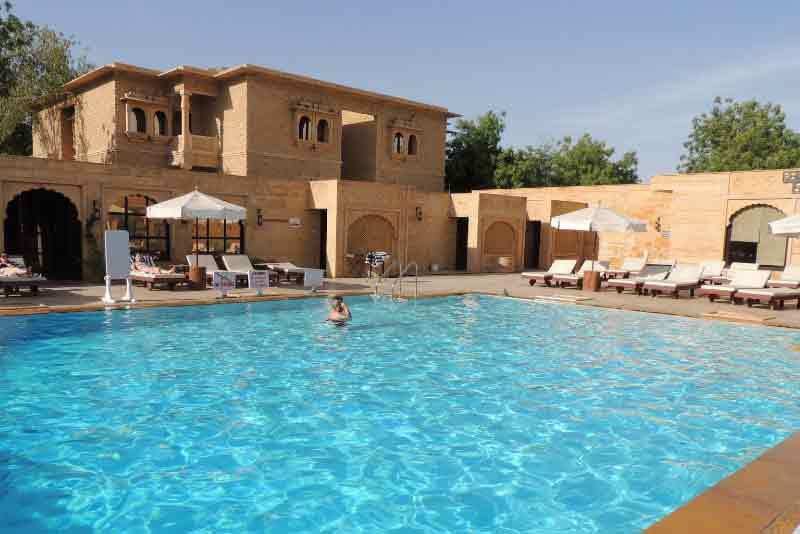 Hotel gorbandh palace heritage hotels in jaisalmer rajasthan - Jaisalmer hotels with swimming pool ...