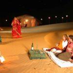 Diwali Celebration in Jaisalmer desert