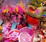 Celebrazioni Holi in Rajasthan