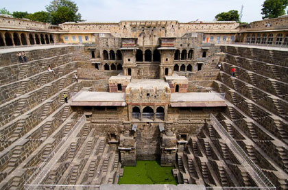 Abhaneri Step Well Car Rental