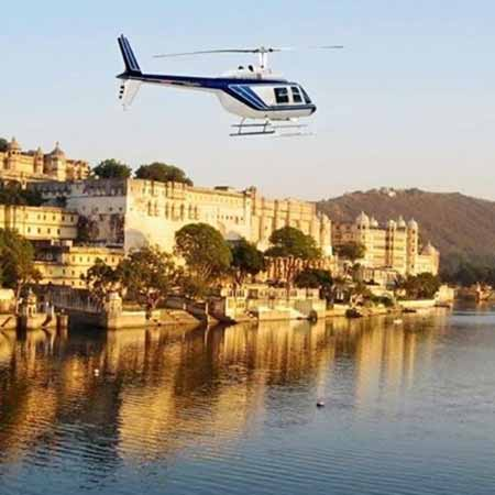 Short Helicopter Joyride in Udaipur