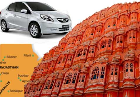 Jaipur Full Day Car Hire