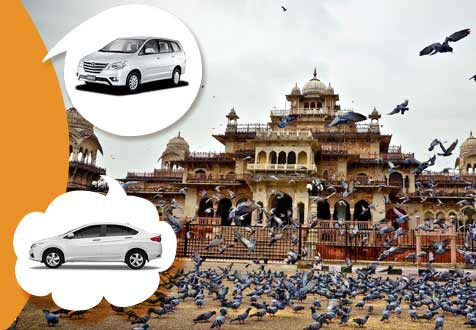 Car Rental Jaipur Sightseeing