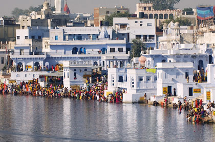 Pushkar fair with Nepal tour