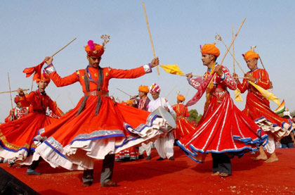 RAJASTHAN FOLK DANCES