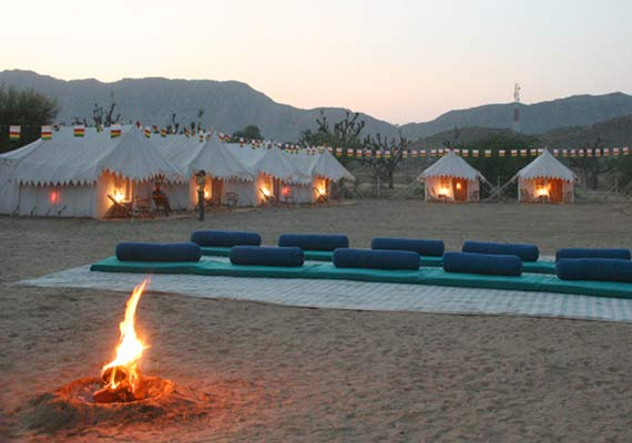 Royal Tents Pushkar