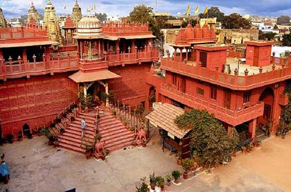 Jaipur Sanghiji Jain Temple Car Rental