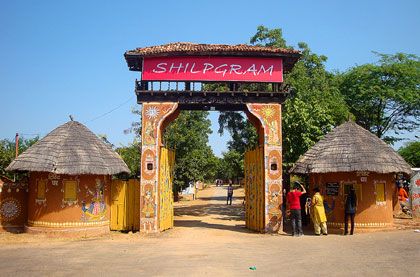 Shilpgram Museum in Udaipur