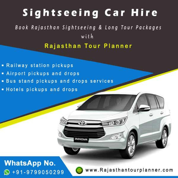 Sightseeing Car Hire Rajasthan