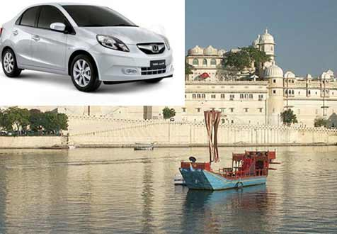 Udaipur full day car rental