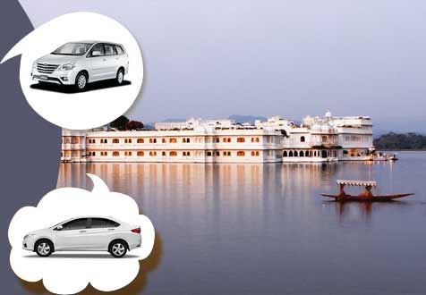 Udaipur sightseeing car hire