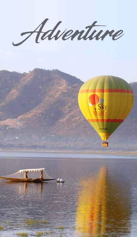 Adventure activities in udaipur