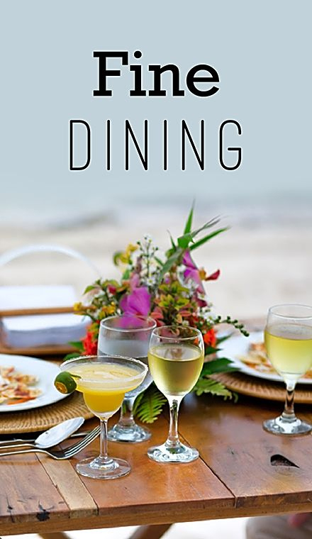 Fine Dining activities in udaipur